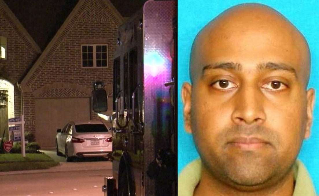 Indian American arrested for shooting ex-wife and killing her husband