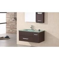 "Christine 35"" Single Sink - Wall Mount Vanity Set (DEC1107)"