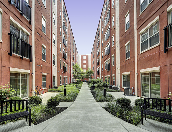 Chauncey Square 1,2,3  4 BR Apartments near Purdue Univ