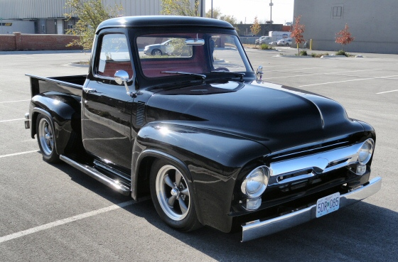 1957 Cars Restored Or Wallpapers 1955 Ford F 100 Pickup Truck Street Rod