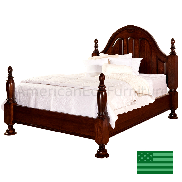 Amish Rosemead Bed Usa Made Bedroom Set American Eco
