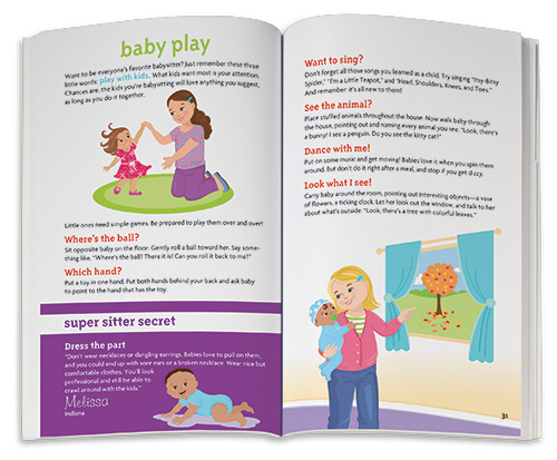 A Smart Girl\u0027s Guide Babysitting American Girl Publishing