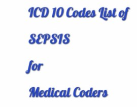 Superb ICD 10 coding tips for Sepsis
