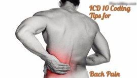 ICD 10 Coding tips for Back pain