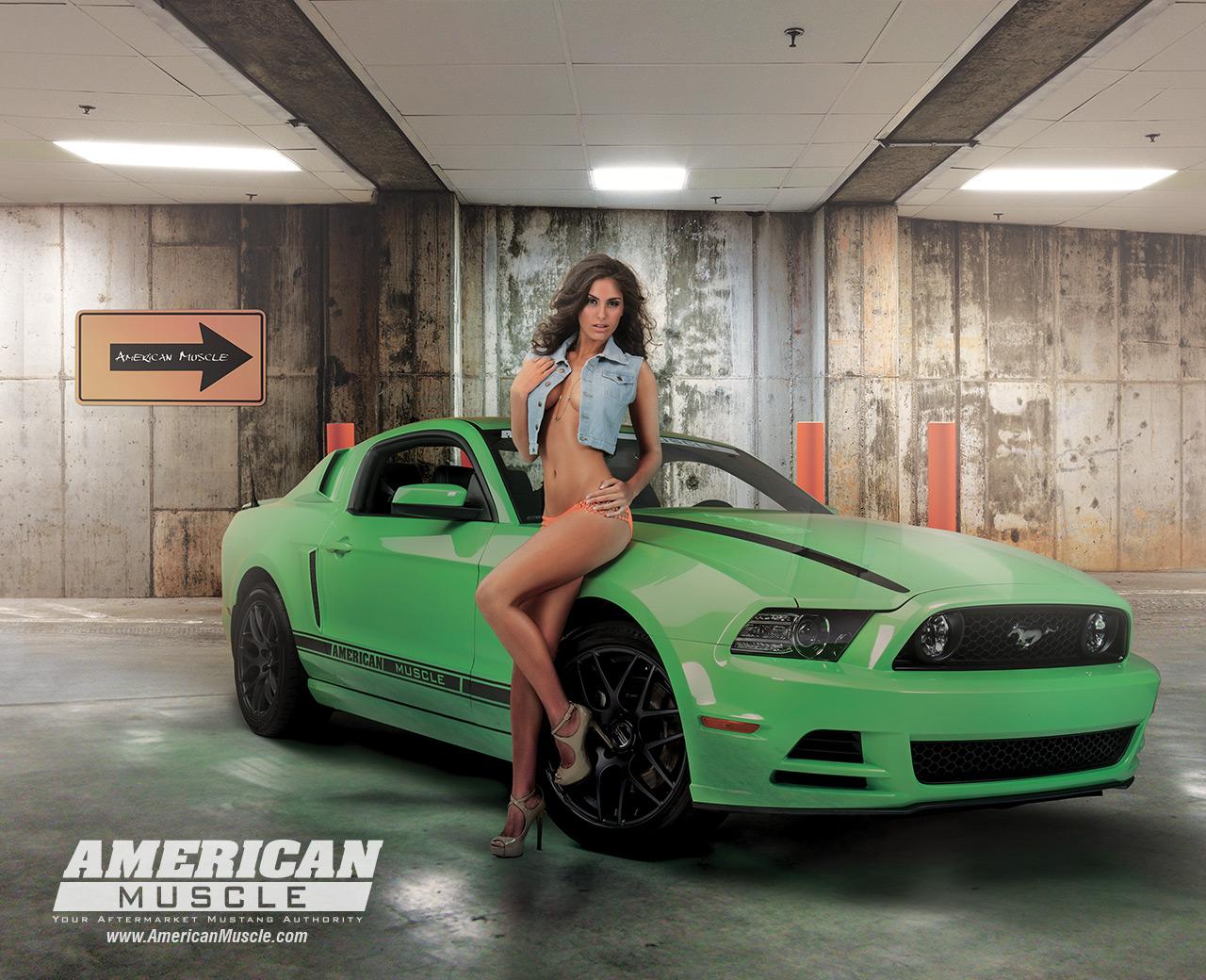 Best Looking Cars Wallpapers Meet The 2013 Am Calendar Girls Americanmuscle Com
