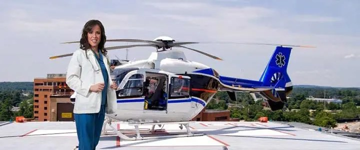 Flying high to save lives - American Nurse Today