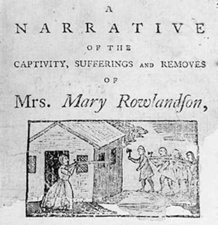 "captivity of mary rowlandson essay Stein's essay argues that within the inquiry called ""the history of sexuality,"" a   representations of hunger in mary rowlandson's 1682 captivity."