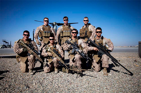 USMC Scout Snipers