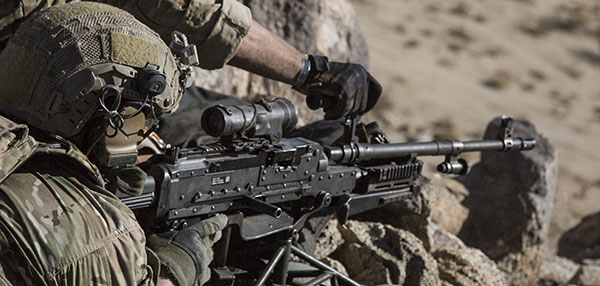 Army Quote Wallpaper 4k M240 Machine Gun Us Special Operations Weapons
