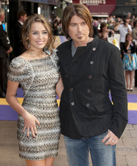 miley cyrus billy ray cyrus 280340 Billy Ray Cyrus Hits Twitter Over Mileys Bong Video