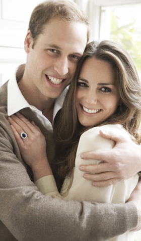 prince william kate middleton 280477 Prince William and Kate Middleton Release Official Engagement Portraits