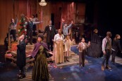 """""""A Civil War Christmas"""" by Paula Vogel, at Artists Repertory Theatre in Portland, Ore., through Dec. 23. (Photo by Owen Carey)"""