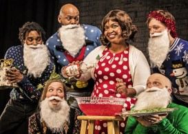 """""""Light the Lights, Ol' Moses CLE (A Wild Holiday Romp),"""" by Raymond Bobgan and Beth Wood, at Cleveland Public Theatre through Dec. 18."""
