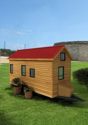 Nashville Back American Tiny House
