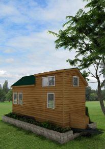 Pensacola Rear American Tiny House