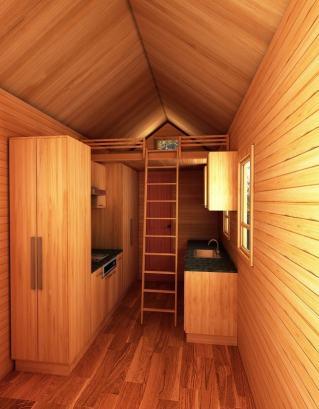 Seattle American Tiny House Interior
