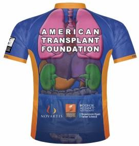 Team Transplant jersey back