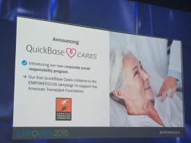 quickbase cares american transplant foundation
