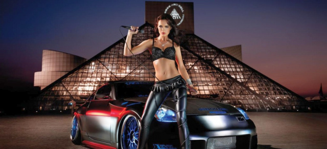 Desktop Corvett Car Wallpaper Miss Tuning Kalender 2011 Wallpaper Cars Amp Girl