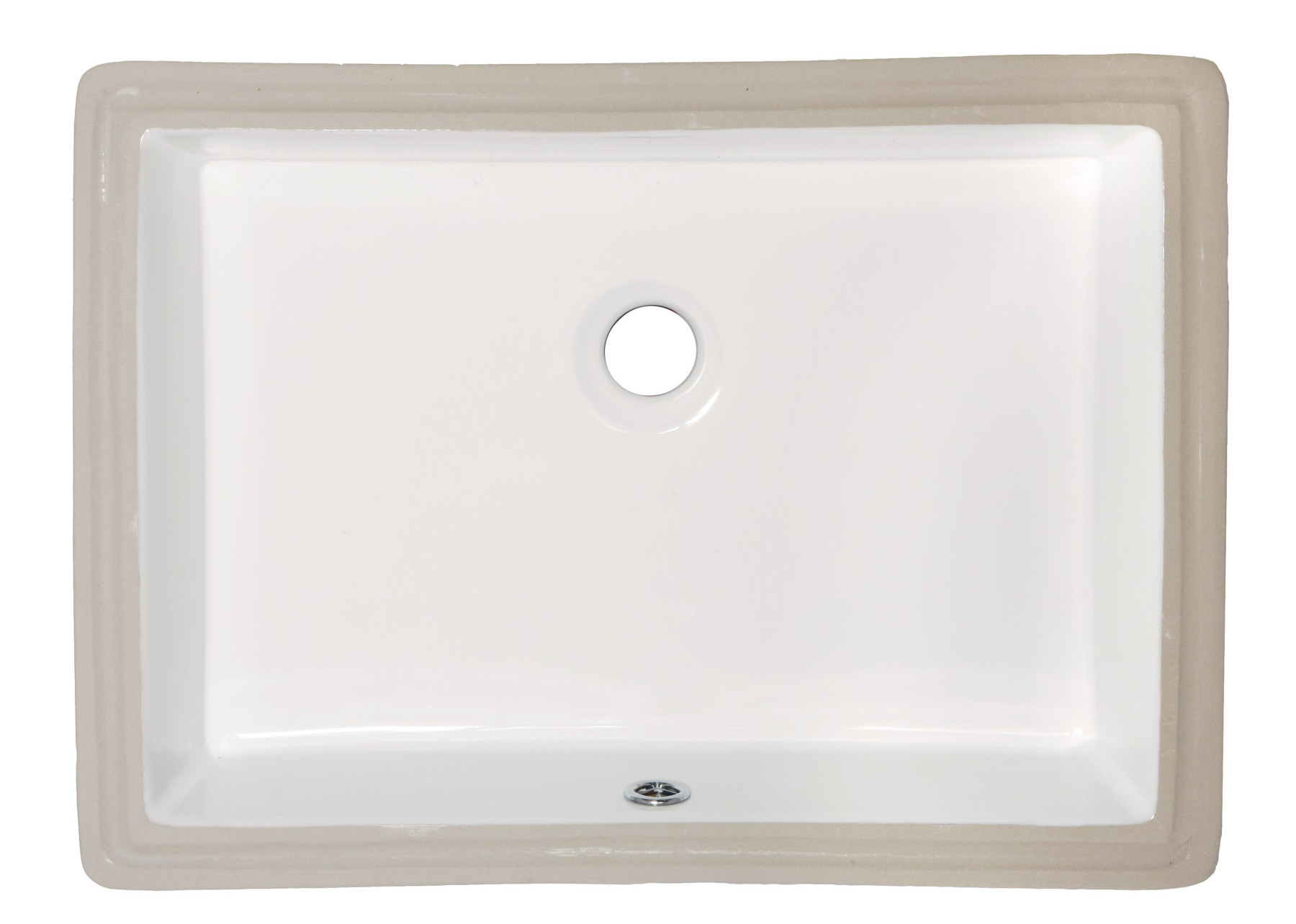 amerisink porcelain kitchen sink AS 19 75 14 38 5 75 Undermount Lavatory Porcelain Sink