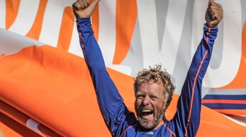 Magnus Olsson Rick Tomlinson/Volvo Ocean Race  Ericsson 3, skippered by Magnus Olsson (SWE) (pictured) finish first into Rio de Janeiro on leg 5 of the Volvo Ocean Race, crossing the line at 10:37:57 GMT 26/03/09, after 41 days at sea  The Volvo Ocean Race 2008-09 will be the 10th running of this ocean marathon. Starting from Alicante in Spain, on 4 October 2008, it will, for the first time, take in Cochin, India, Singapore and Qingdao, China before finishing in St Petersburg, Russia for the first time in the history of the race. Spanning some 37,000 nautical miles, visiting 11 ports over nine months, the Volvo Ocean Race is the world's premier ocean yacht race for professional racing crews.  For all media enquiries please contact Lizzie Ward on +44 (0)1489 554 832 or email lizzie.ward@volvooceanrace.org. For all photographic enquiries, please contact Tim Stonton on +44 (0)1489 554 867 or email tim.stonton@volvooceanrace.org. For further images, please go to http://images.volvooceanrace.org