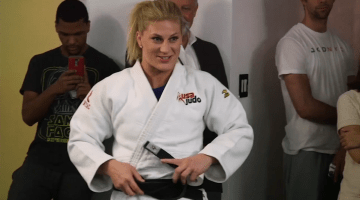AMERICAN JUDOKA KAYLA HARRISON WINS GOLD MEDAL IN RIO:  INTERVIEW