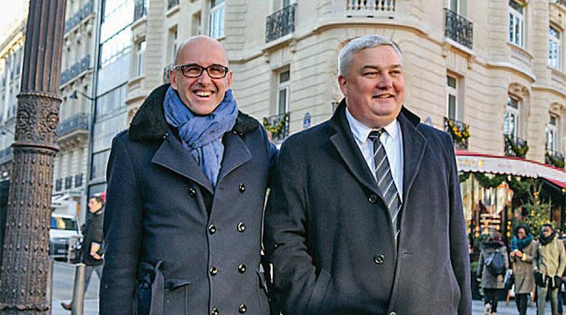 Frédéric Bierry et Eric Straumann à la manoeuvre