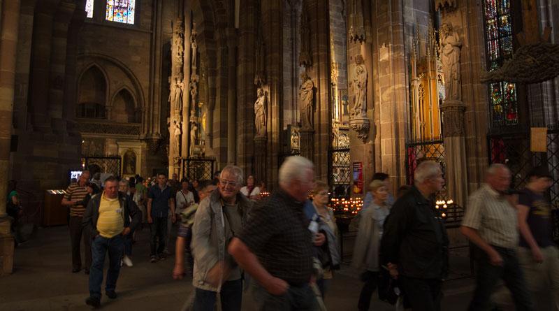 Nouveaux dispositifs de visite pour les groupes à la Cathédrale de Strasbourg