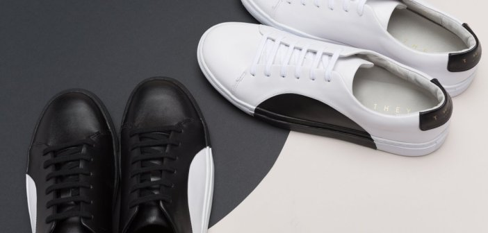 Sneakers Uomo 2016-2017: Tendenza Black & White