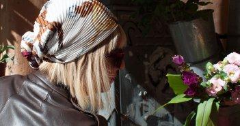 Come Indossare il Foulard Hermès in testa