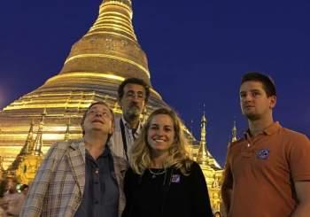 Cari Amici, sono tornata dalla Birmania