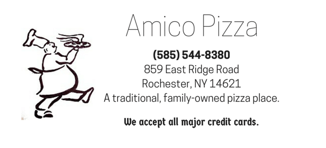 Amico Pizza Place Logo