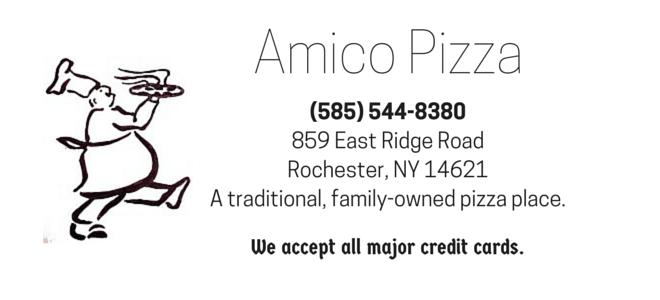 Amico Pizza Place Logo
