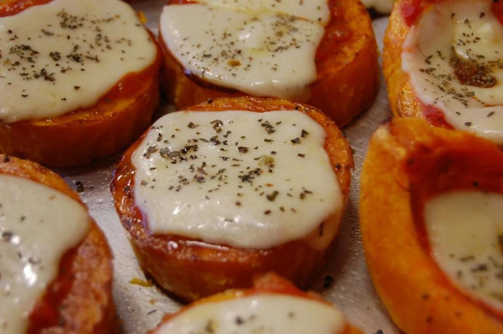 calabaza con queso