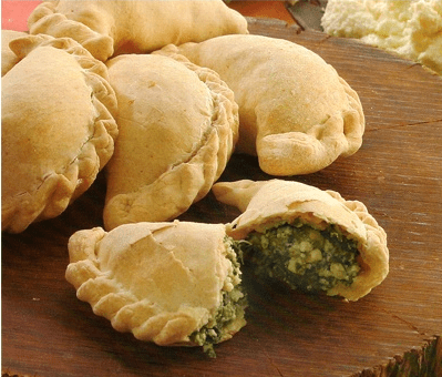 empanadas de espinaca