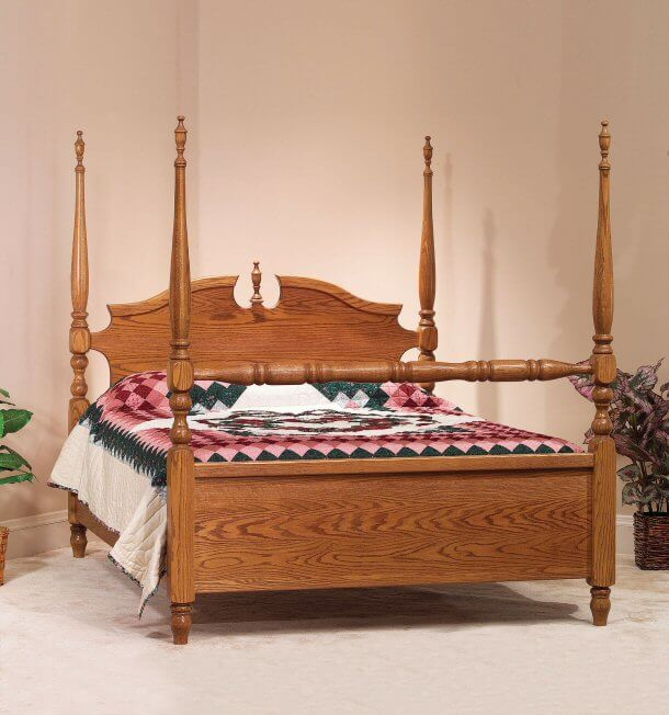 Amish Deluxe Bed