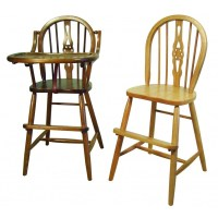 Windsor Child's Chair, High Chair, or Youth Chair - Amish ...