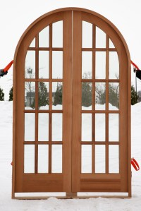 Custom Arched & Round Top Doors - Amish Custom Doors