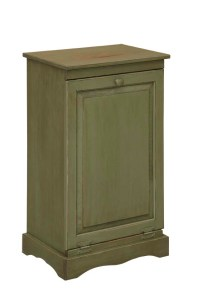 Trash Can Cabinet - Amish Furniture Connections - Amish ...