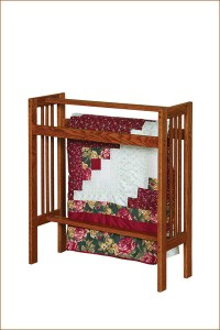 Mission Standing Quilt Rack - Amish Furniture Connections ...