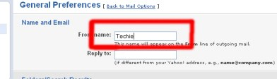 Yahoo Messenger Name Change