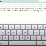 Typing Tutor Apple iPad App