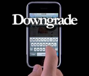 How to Downgrade Apple iPhone 3GS to 3.1.3 from iOS 4