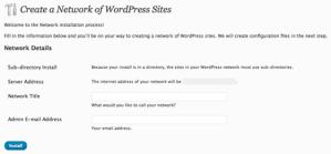 How to Setup Wordpress 3 Multi User Blog – Mu Tutorial