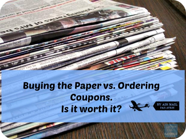 Buying a paper