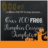 Over 700 FREE Pumpkin Carving Templates