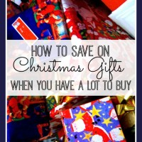 How to Save on Gifts When You Have A Lot of Them To Buy