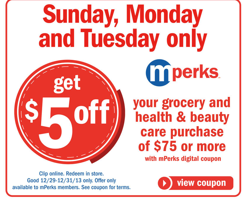 Be sure to enroll in their Mperks program (free), which allows you to use coupons on the website through your mobile phone. To find additional offers that may be applied to your Meijer purchase, browse the selection of online deals at sell-lxhgfc.ml%().