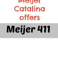 Current Meijer Catalina Offers