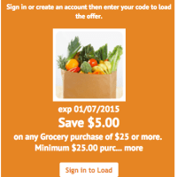 Kroger: HOT $5/$25 Digital Coupon To Score